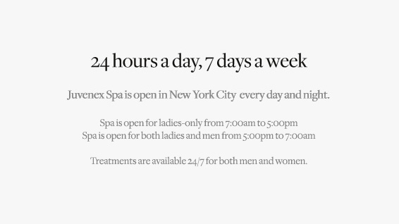 About us juvenex spa luxury 24 7 spa in new york city for 24 hour salon new york