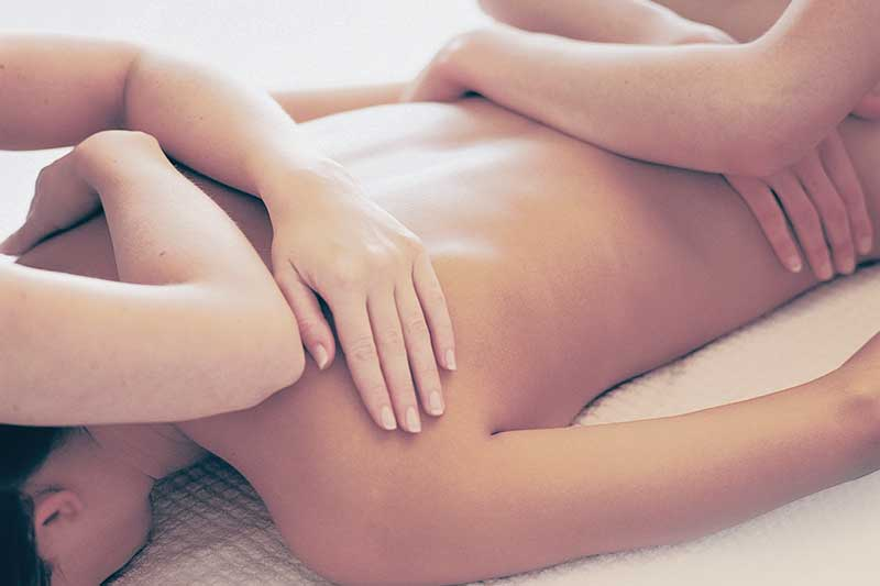 Four Hands Dream Massage full body massage in New York City NYC Manhattan best spa in New York, Facial massage