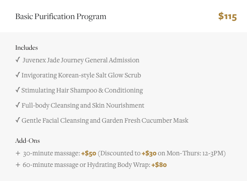 Body Scrub & Spa in New York City NYC Manhattan