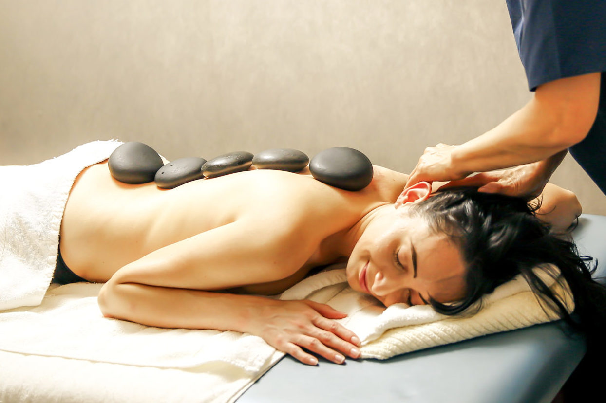 Massage in New York NYC Manhattan - Thermo-Stone Therapy
