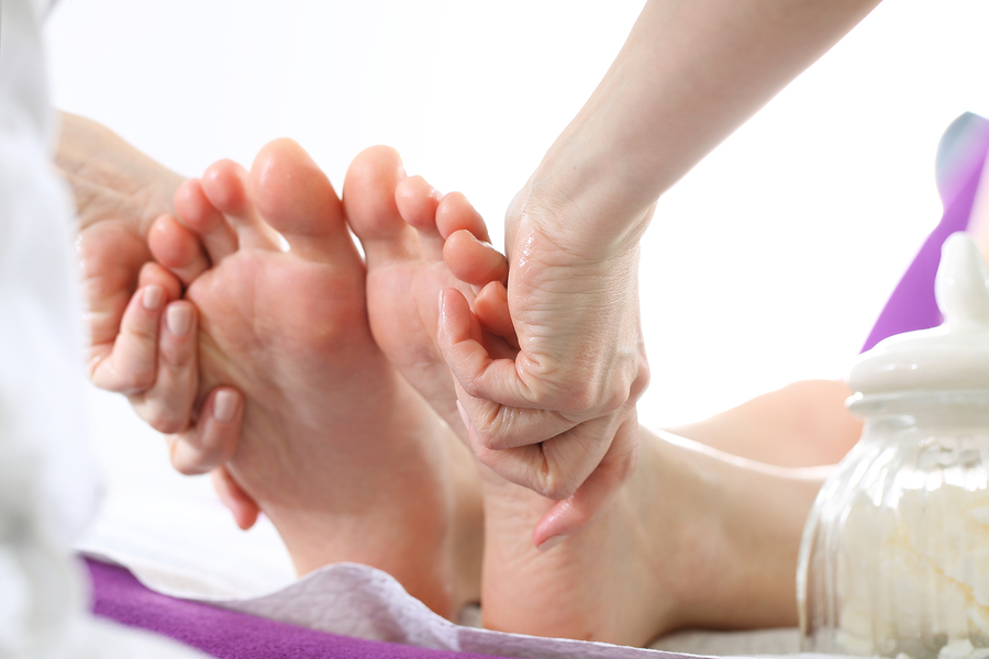 foot massage in New York NYC
