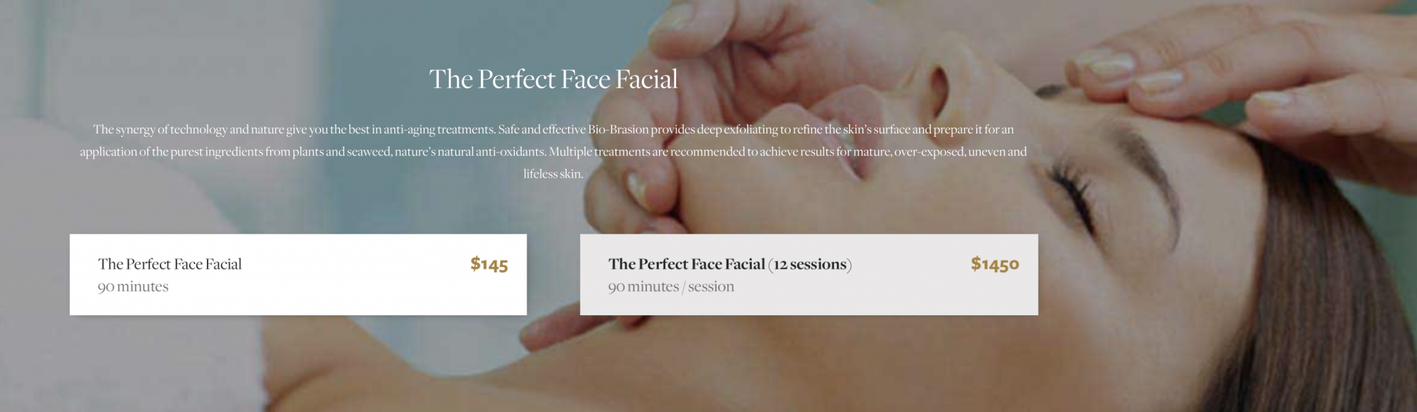 facial massage in Manhattan NYC