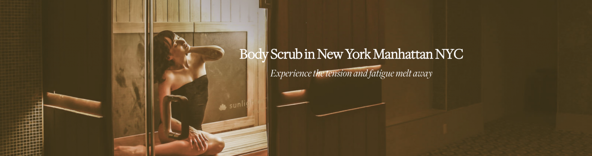 body scrub in New York NYC