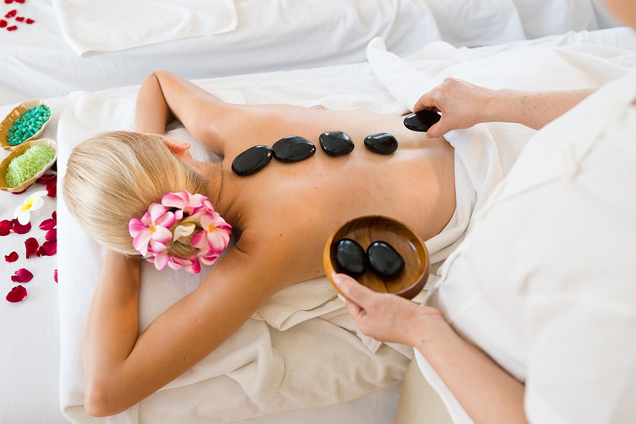 Thermo-Stone Therapy - Let warmed river rocks, soothing oils and a skilled therapist's hands bring you to deep inner peace.